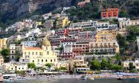Роскошный город Позитано. Вот оно, счастье на Амальфитане.